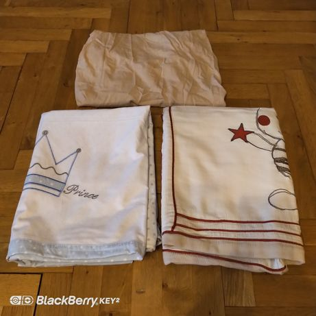 2 x pościel dziecieca do lóżeczka_ r. 120x90 cm Feretti.