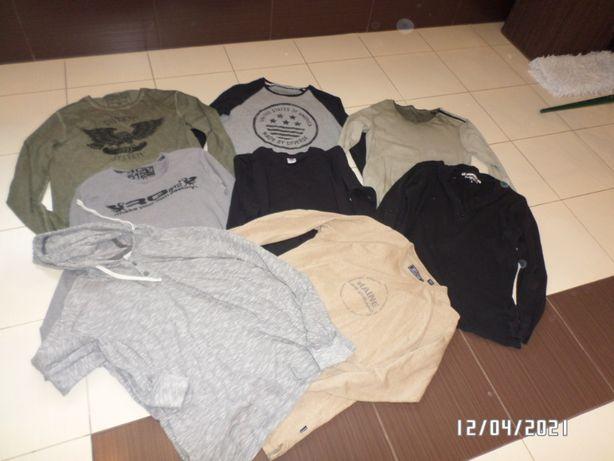 8 firmowych bluz męskich -L/XL