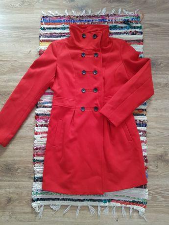 Czerwony płaszcz Reserved rozmiar M
