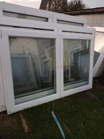 Sprzedam okno używane z Niemiec 126wys194szer z ruchomym słupkiem