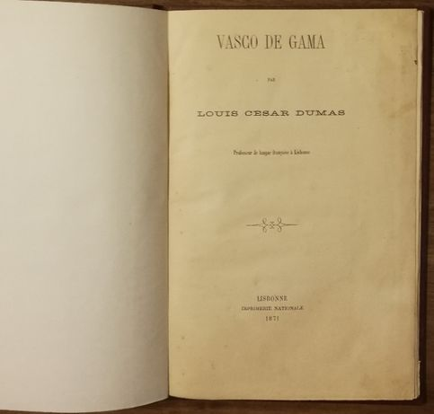 vasco da gama, louis cesar dumas, 1871