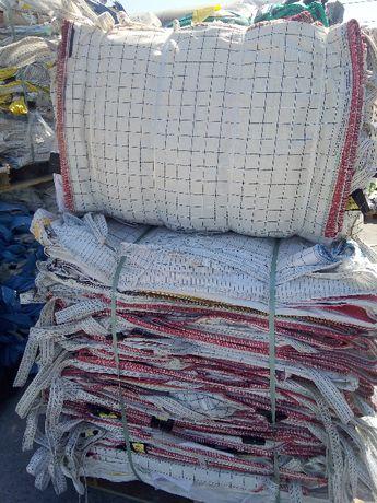 Worki Big Bag 75/105/140cm z Przeznaczeniem na Spożywkę Czyste 1000kg