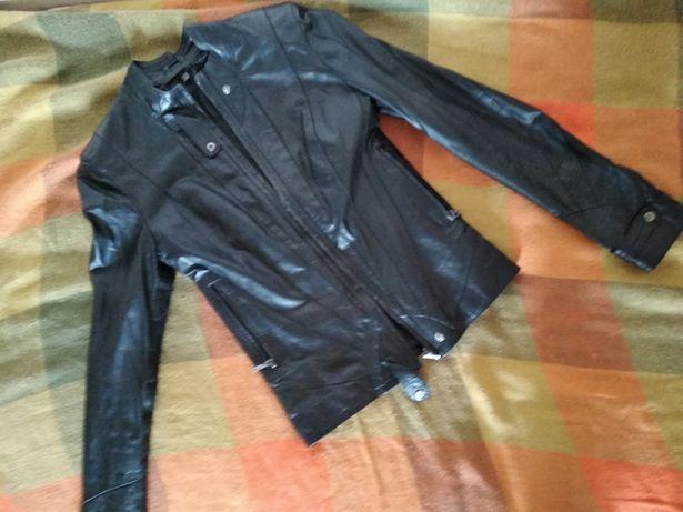 кожаная  куртка , пиджак