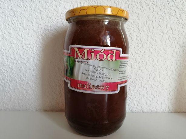 Miód Malinowy 1,2 KG