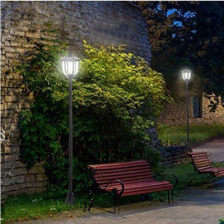 OutSunny Solarna Lampa Ogrodowa LED NOWA!!!