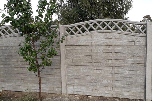 Ogrodzenie betonowe, trwałe ogrodzenia na lata, krótkie terminy!