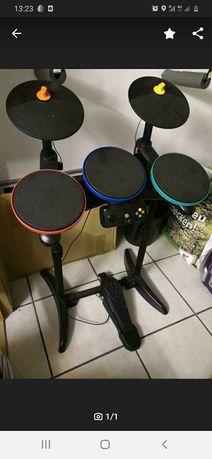 Беспроводные барабаны для xbox 360 wireless drum guitar hero rock band