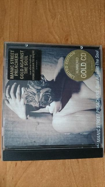 Manic Street Preachers : Gold Against the Soul - 24Kt Gold CD