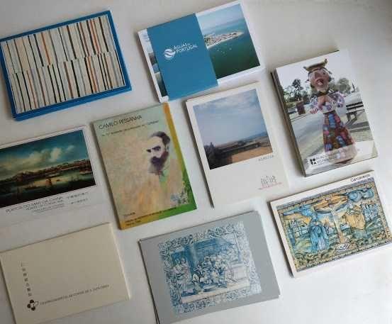 Postais Arte em Portugal - Coleções Completas - 111 unds