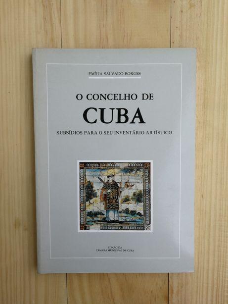 o concelho de cuba, emília salvado borges, 1989