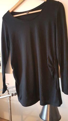 Czarna bluzka ciazowa na długi rękaw New Look Maternity S, M 36/38