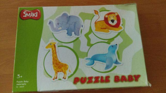 Puzzle Smiki zwierzęta afrykańskie