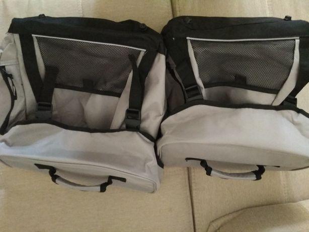 Crivit комплект велосипедных багажных сумок