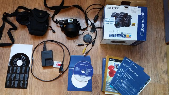 Aparat fotograficzny Sony Cyber-shot DSC H10