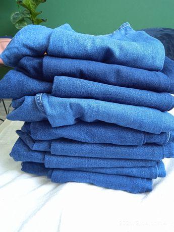 Jeansy męskie różne wzory i kolory denim zupełnie jak nowe 9 par