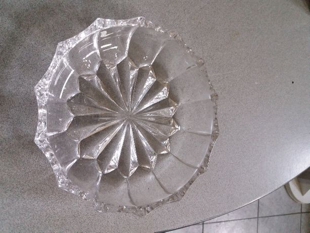 Prato decorativo cristal