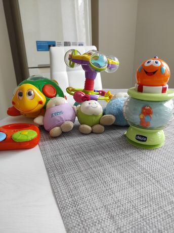 Фирменные детские игрушки, погремушки. США, Франция, Италия
