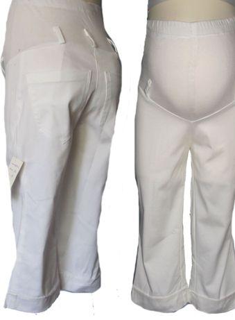 Spodnie ciążowe rybaczki