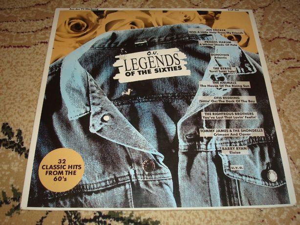Płyty winylowe składanka Legends Of The Sixties 2 lp