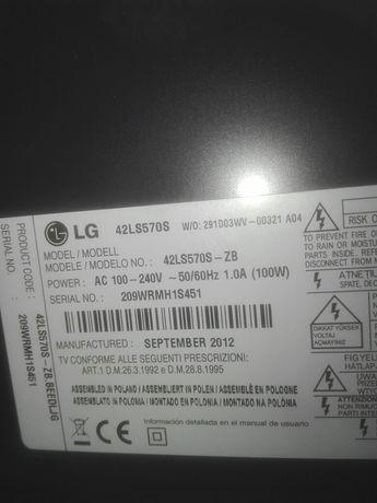 Lg 42 LS 570S części