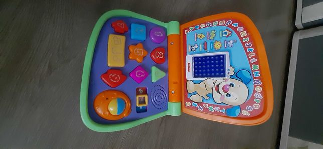 Laptop dwujęzyczny polsko-angielski FISCHER PRICE