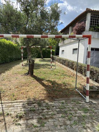 Conjunto de Balizas Futsal/Andebol Profissionais