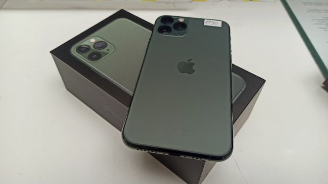 Jak NOWY Telefon Apple iPhone 11 PRO 64GB 98% bateria GREEN Zielony