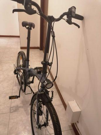 Bicicleta troco por uma maior