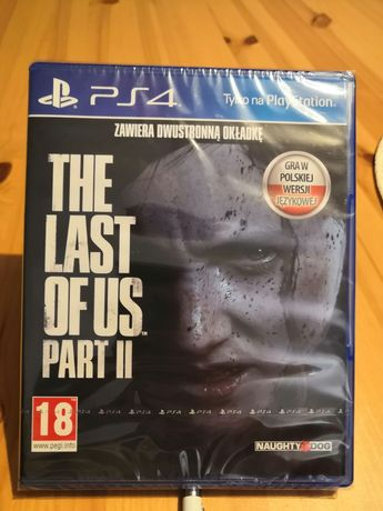 Gra na ps4/ps5 the last of US part 2 nowa w folii playstation
