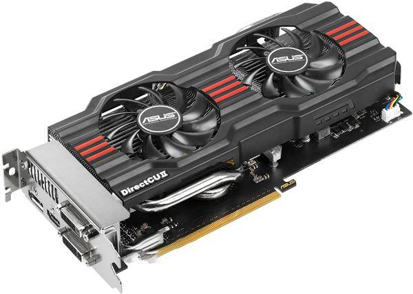 Asus PCI-Ex GeForce GTX 660 DC II 2GB GDDR5 (192bit) (980/6008)