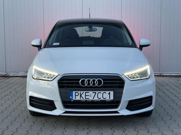 Audi A1 Sportback / 1.6 TDI / lift / Xenon / Led / Biala perła /