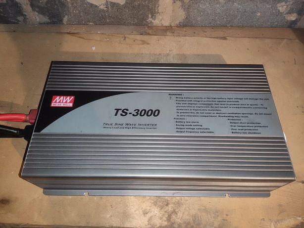 Инвертор TS-3000 Mean Well 3000 ВТ, 24В/220В
