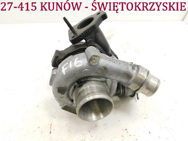 Turbosprężarka 2.0 DCI Renault Espace IV Scenic III Laguna II lift Kunów - image 1