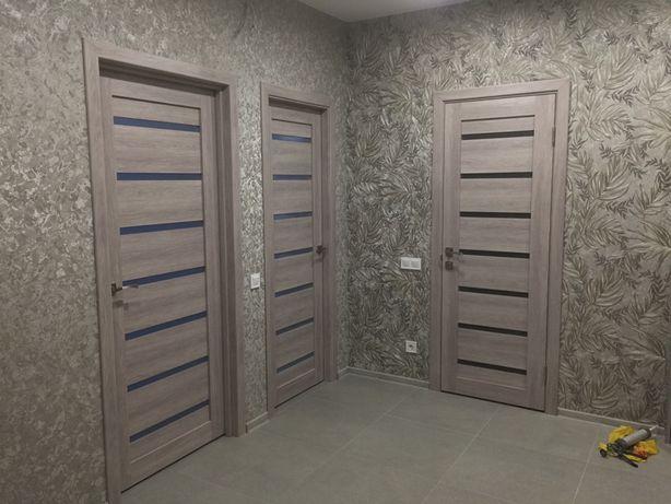Установка, регулировка входных и межкомнотных дверей любой сложности.