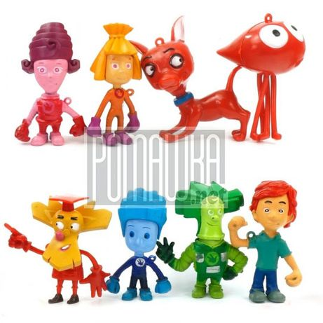 Набор 8 фигурок Фиксики Игрушки (фігурки Фіксики) Герои Нолик