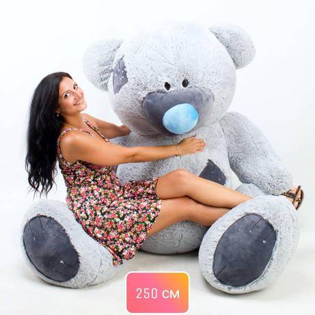 Великий ведмедик плюшевий, ведмідь Тедді, подарунок, панда, мишка плюш