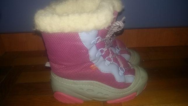 Детские ботинки зимние размер 28-29.Польша,Demar