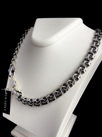 Серебряная цепочка арабка 103 грамма