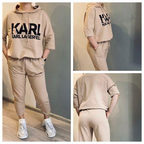 Karl Lagerfeld dres spodnie bluza komplet rozmiar S-XL