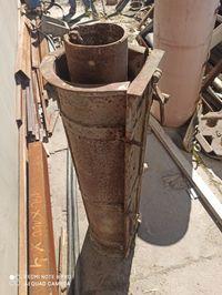 Forma na rury betonowe przepusty 150 i urządzenie z formami 300 i 400