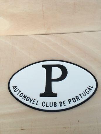 placa emblema classico/automobilia