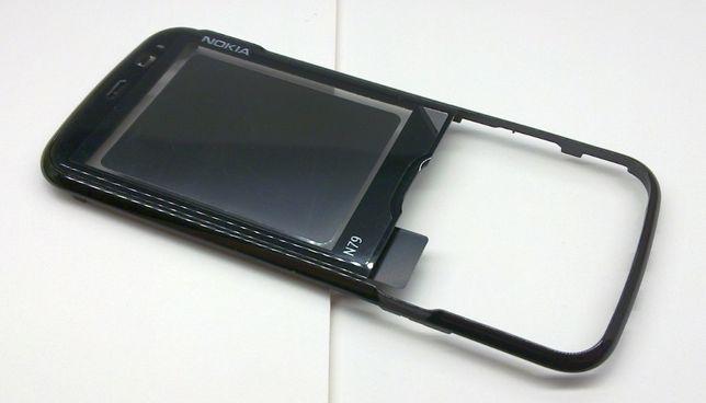 Nokia N79, oryginał CZARNY panel przedni 100% nowy