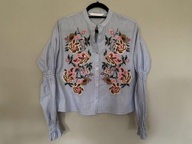 Koszula z haftem Zara