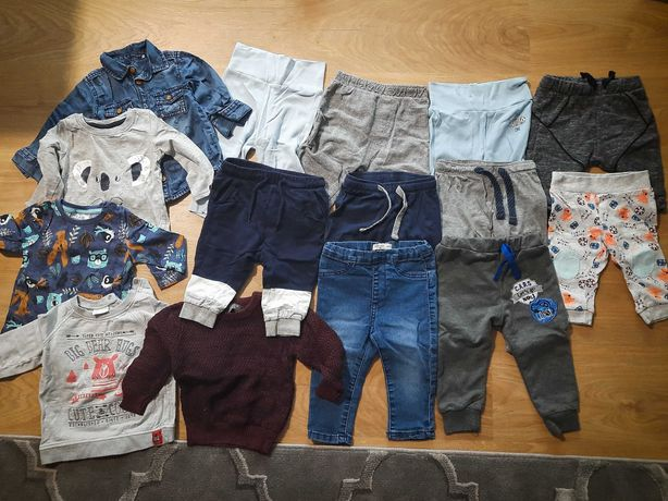 Ubrania dziecięce 74