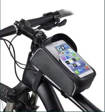 Велосумка, телефон, на раму, сумка для велосипеда, чехол телефон.