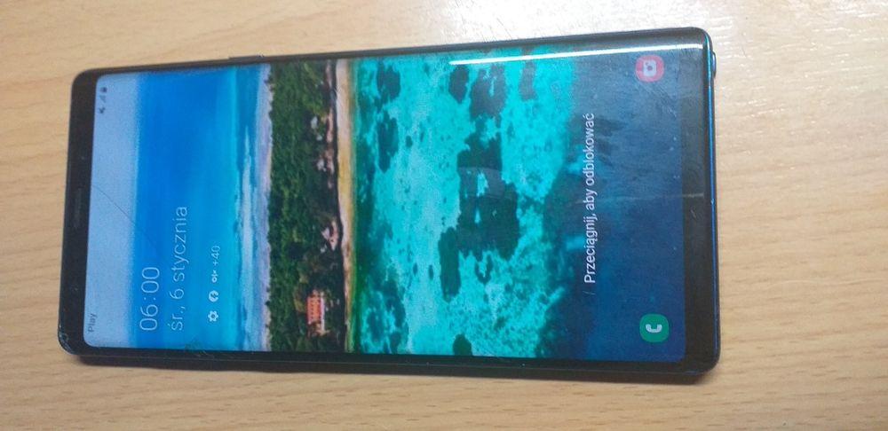 Samsung note 9 lekko uszkodzony ekran Łódź - image 1