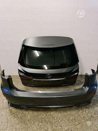 Lexus rx450h 350 крышка багажника, ляда В сборе , можно голую
