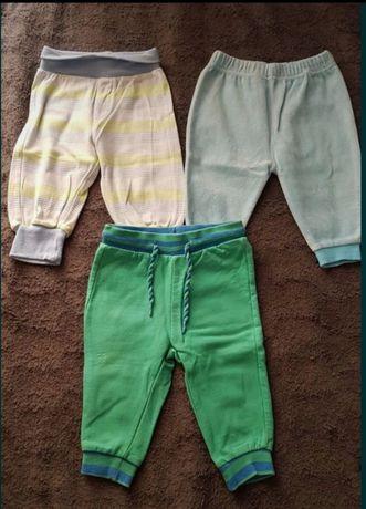 Komplet trzech par spodni 68