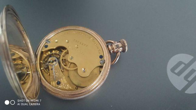 Relógio De Bolso Marca A. W. CO. WALTHAM
