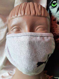 Защитные маски (многоразовые, 100% котон)